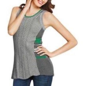 CAbi Trident Sweater Vest Tunic 885